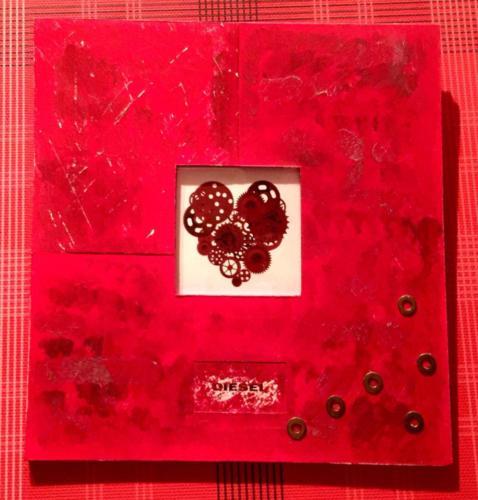 【37バレンタイン】ディーゼルのチョコレートパッケージ