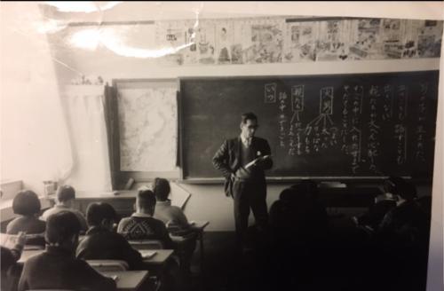 昭和の授業風景